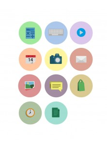 Flat UI Icons Vector Pack | Vector Icons | VectorVice