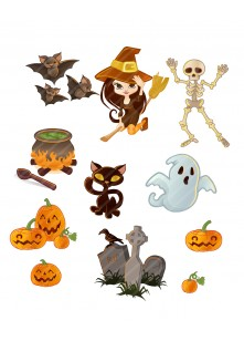 Halloween Vector Pack | Vector Elements | VectorVice