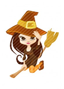 Halloween Vector Pack | Witch Vector Image | VectorVice
