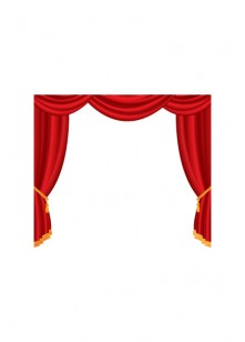 Hollywood Vector Pack | Theater Curtain Vector Images | VectorVice
