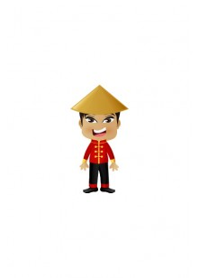 Chinese Vector People | Vector Character | VectorVice