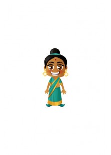 Indian Vector People  | Vector Character | VectorVice