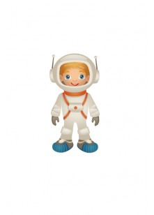 Space Vector Image Astronaut | Vector Space Rocket | VectorVice
