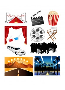 Hollywood Vector Pack | Vector Graphics | VectorVice