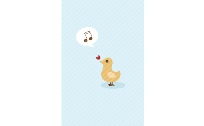 Vector Singing Bird | Kids Vector Pack | VectorVice