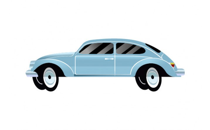 Cars Vector Pack   Vector Beetle Vehicle   VectorVice