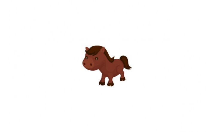 Farm Animals Vector Pack | Horse Vector Image | VectorVice