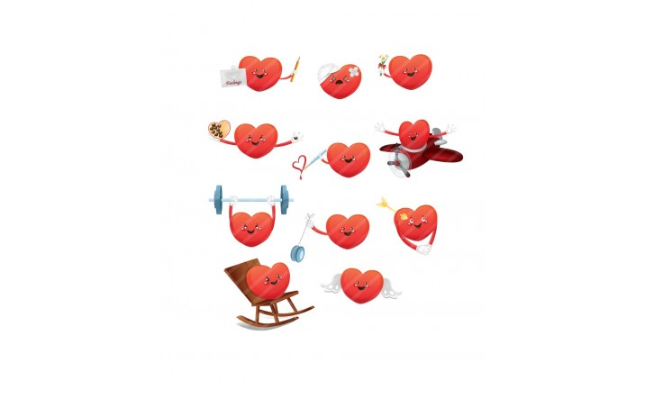 Valentines Day Vector Pack | Hearts Graphics | VectorVice