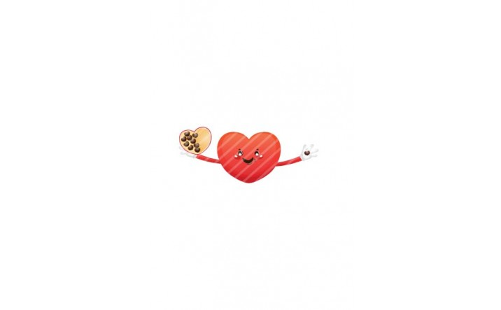 Valentines Day Vector Pack | Heart Chocolate Vector Image| VectorVice