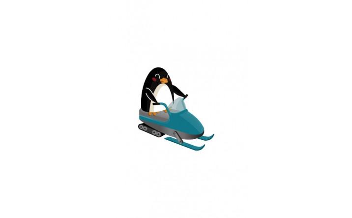 Winter Penguins Vector Pack   Vector Graphics   VectorVice