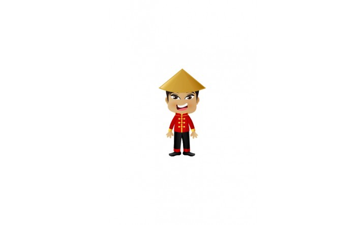 Chinese Vector People   Vector Character   VectorVice
