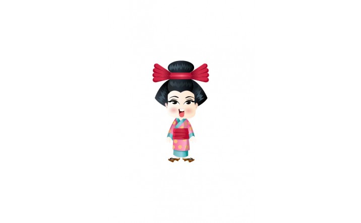 Japanese Vector People   Vector Character   VectorVice
