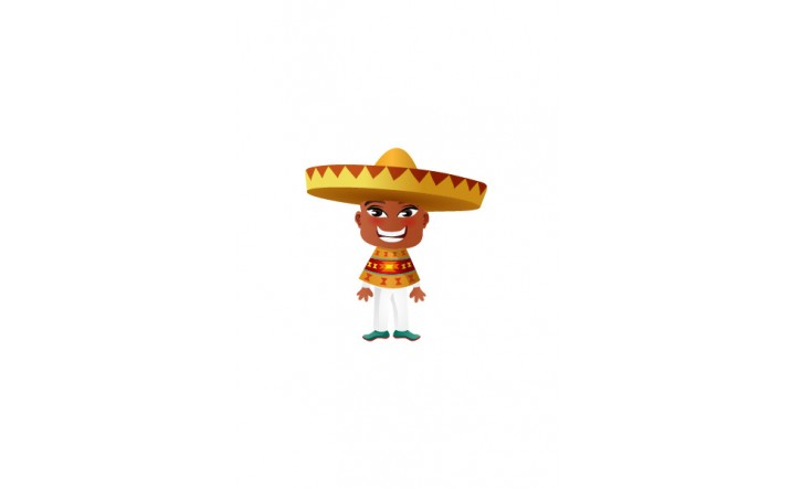 Mexican Vector People | Vector Character | VectorVice