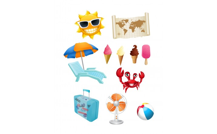Summer Vector Pack | Vector Graphics | VectorVice