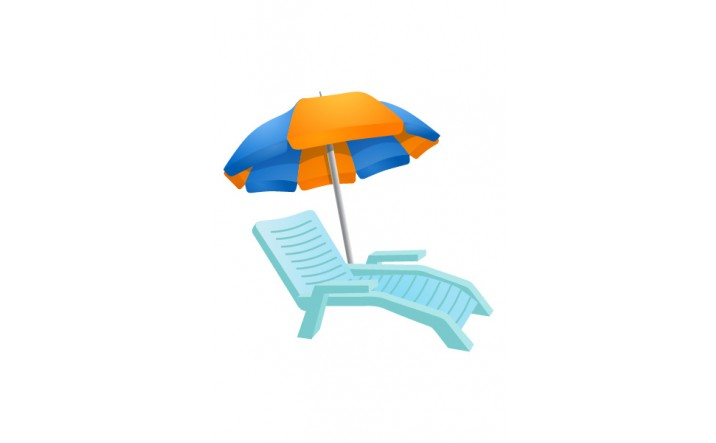 Summer Vector Pack | Beach Chair Vector Images | VectorVice