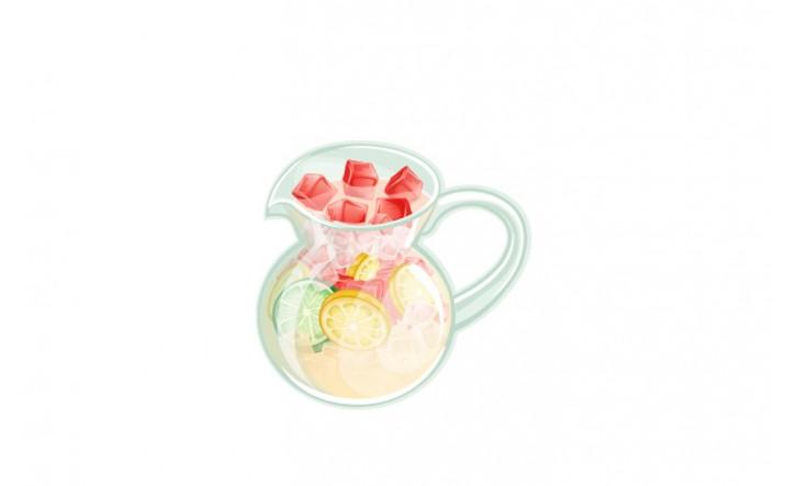 Summer Snacks Vector Pack | Lemonade Vector Image| VectorVice