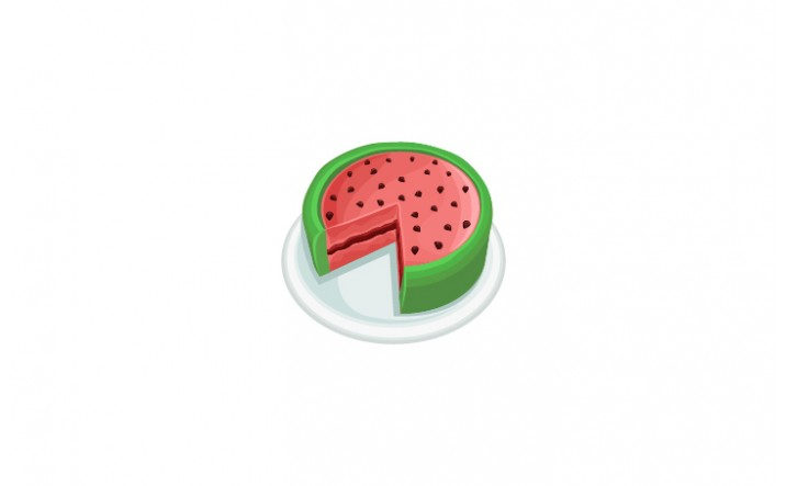 Summer Snacks Vector Pack | Watermelon Vector Image| VectorVice