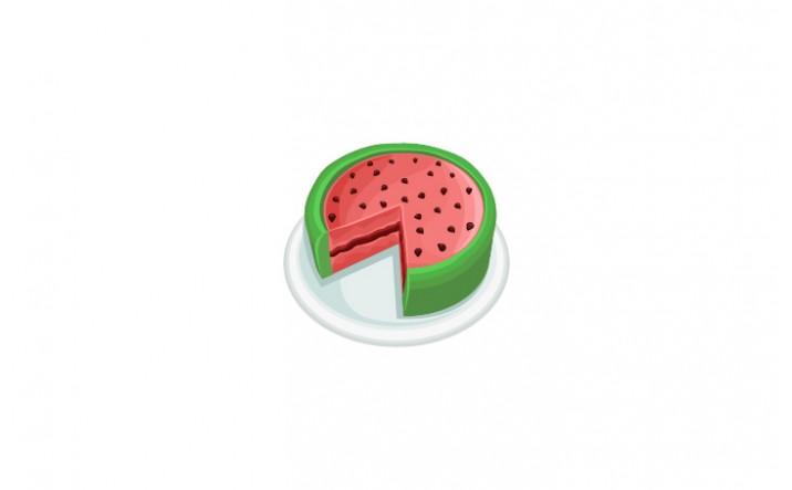 Summer Snacks Vector Pack | Watermelon Vector Image| VectorVice