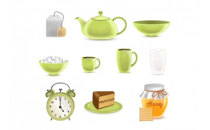 Tea Vector Pack | Tea Vector Images | VectorVice