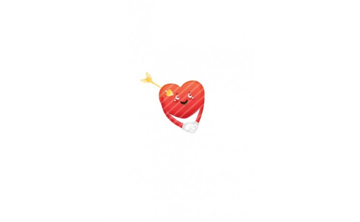 Valentines Day Vector Pack | Heart Arrow Vector Image| VectorVice