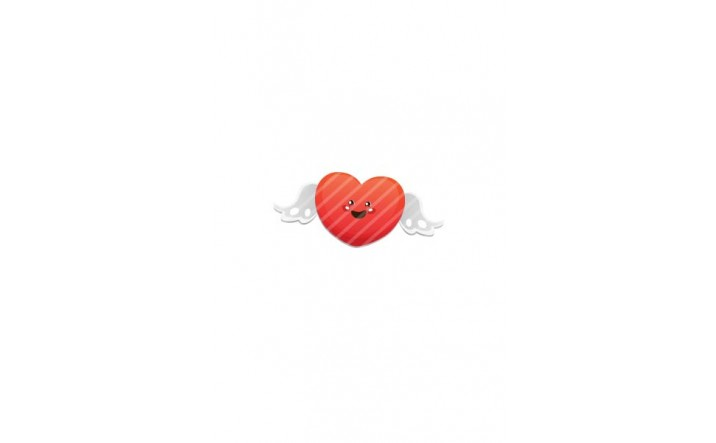 Valentines Day Vector Pack | Heart Wings Vector Image| VectorVice
