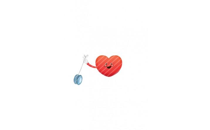 Valentines Day Vector Pack | Heart Yoyo Vector Image| VectorVice