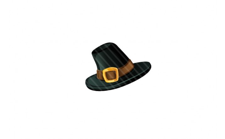 Thanksgiving Vector Hat Graphics